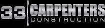 33 Carpenters Construction logo