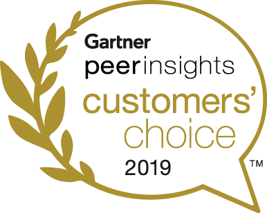 Gartner Peer Insights Badge 2019