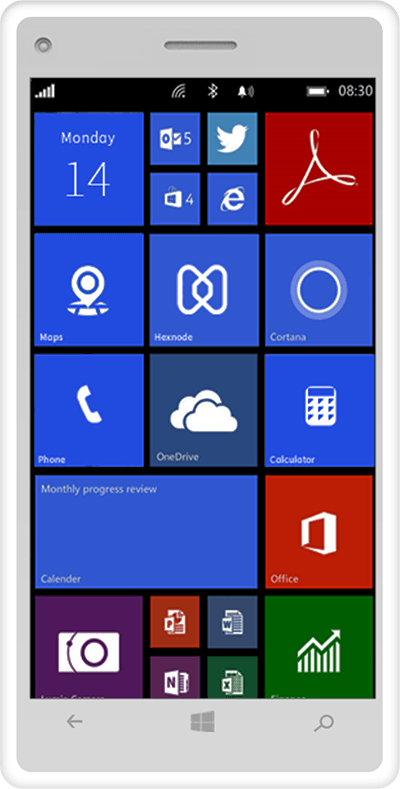 Hexnode-mdm-windows-phone-device-management
