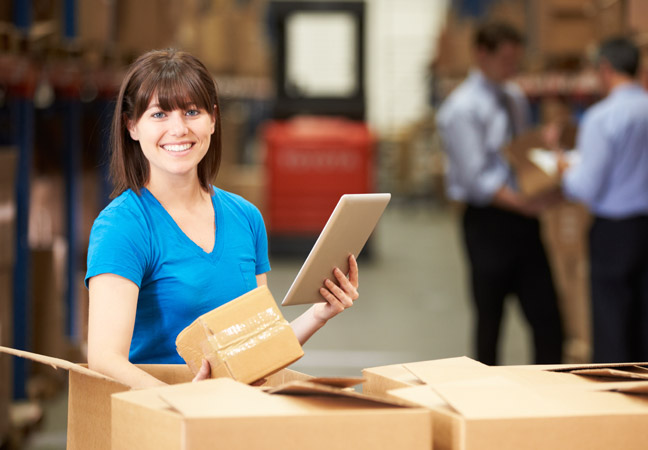 Mobility management in logistics