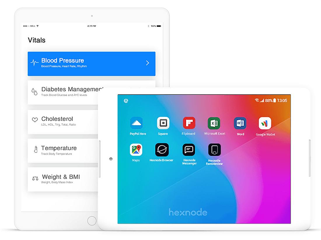 Hexnode mobile kiosk software